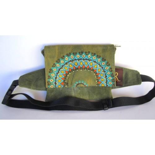 Costum belt bag - Mandala