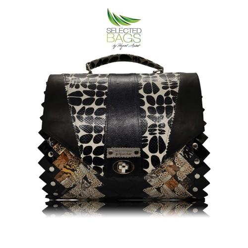 Black Big Infinity Fashion Bag