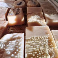 Lavender soap with goat milk