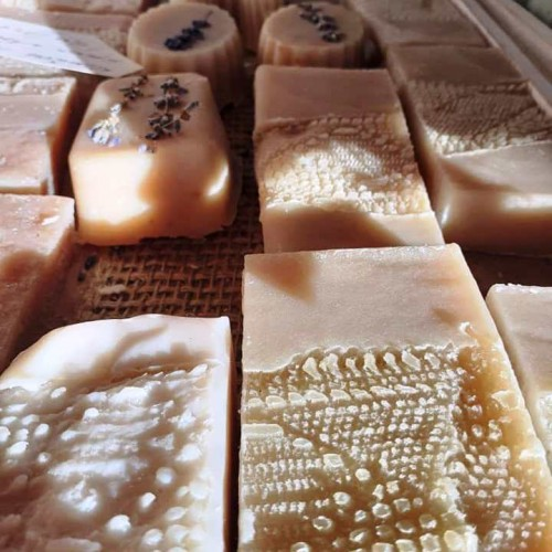 Lavender soap with goat milk