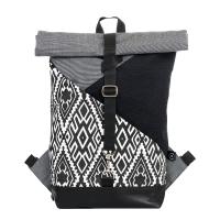 Roll-top backpack - Wind flow