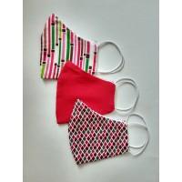 Personalized masks - 3 piece set - New pinky