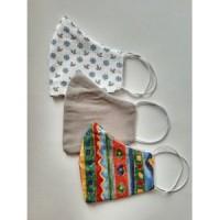 Personalized masks - 3 piece set - Playful