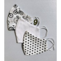 Personalized masks - 3 piece set - Bicycle