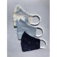 Personalized masks - 3 piece set - Sailor