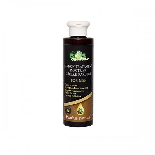 Șampon tratament împotriva căderii părului, pentru bărbați, 200 ml
