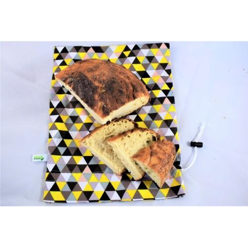 Sac pentru paine si produse de panificatie, nowaste, ecologic, sau wetbag, galben